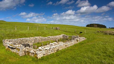 Templo deMitra en Carrawburgh, Reino Unido.