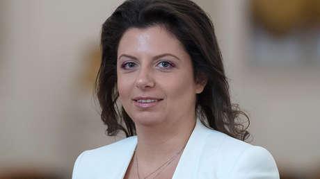 Margarita Simonián, directora del grupo RT.
