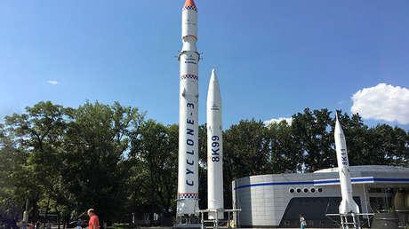 Vista general del Rocket Park de Dnipró (Ucrania). Foto tomada el 16 de agosto de 2017.