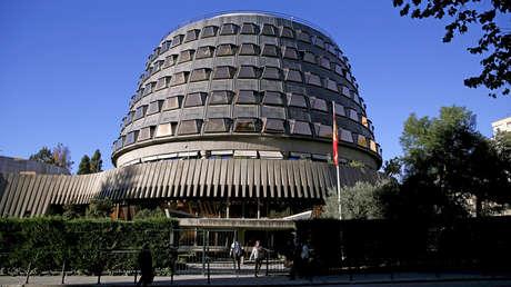 Sede del Tribunal Constitucional en Madrid, España.