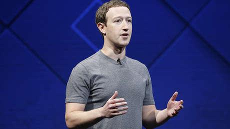 Mark Zuckerberg durante la conferencia anual Facebook F8 en San José (EE. UU.), el 18 de abril de 2017.