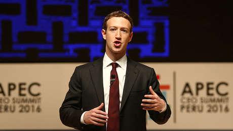 Mark Zuckerberg durante un encuentro de la APEC en Lima (Perú), el 19 de noviembre de 2016.