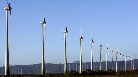 Vista de un parque eólico en Osorio, en el sur de Brasil, el 30 de noviembre de 2007.