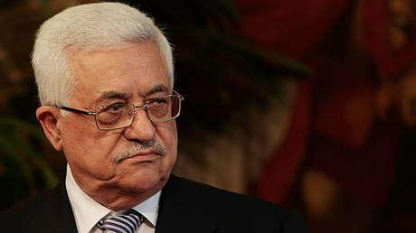 El presidente palestino Mahmud Abbás
