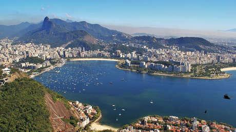 Vista panorámica de la ciudad de Río de Janeiro, en Brasil.