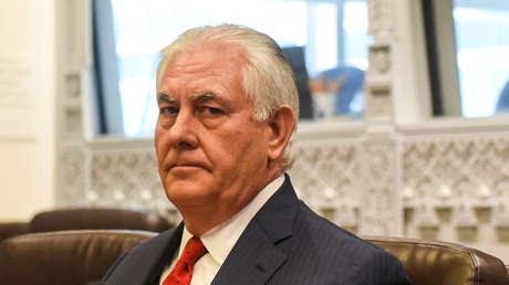 El secretario de Estado de EE.UU., Rex Tillerson.