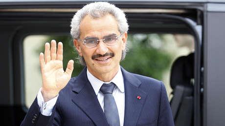 El príncipe saudita Al Walid Ben Talal