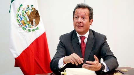 Eduardo Sánchez Hernández, director de Comunicación Social y vocero de la Presidencia de México.