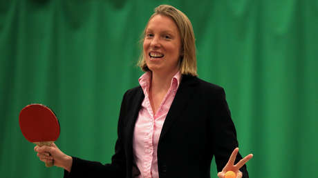 Tracey Crouch, actual ministra británica de Deporte y Sociedad Civil.