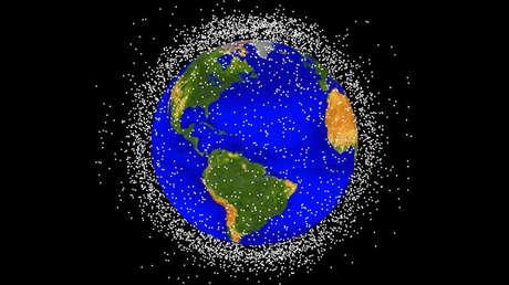 Así planea China eliminar la basura espacial