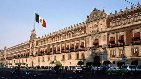 Palacio Nacional, México D.F., México.