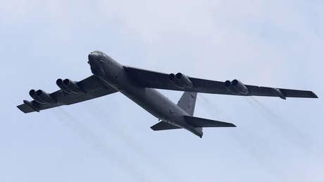 B-52, bombardero estratégico de la Fuerza Aérea de EE.UU.