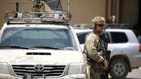 Un soldado estadounidense en Siria.