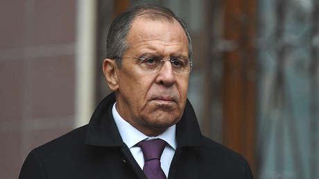 El ministro de Relaciones Exteriores de Rusia, Serguéi Lavrov.