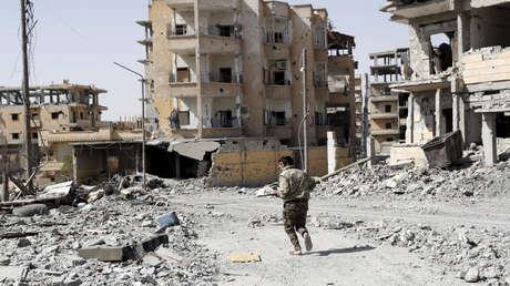 Raqa, Siria, 7 de octubre de 2017