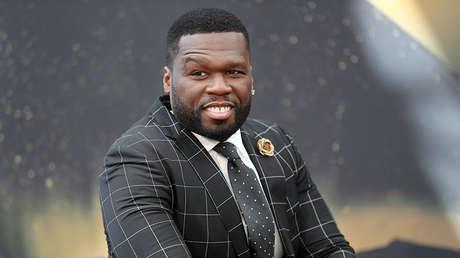 El rapero y actor estadounidense Curtis Jackson, conocido como '50 Cent'.