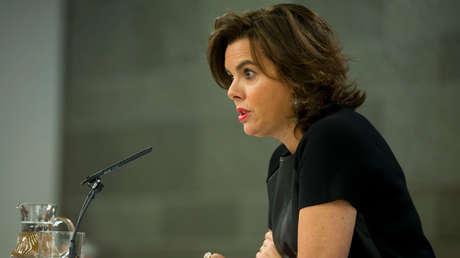 Soraya Sáenz de Santamaria, vicepresidenta de España.