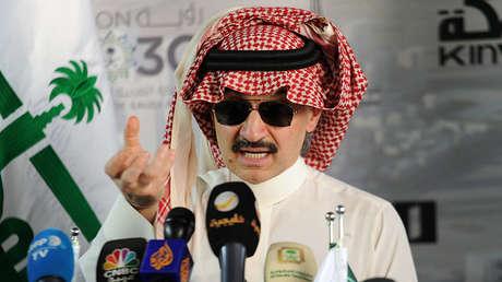 Al Walid bin Talal en Yeda, Arabia Saudita, el 11 de mayo de 2017.