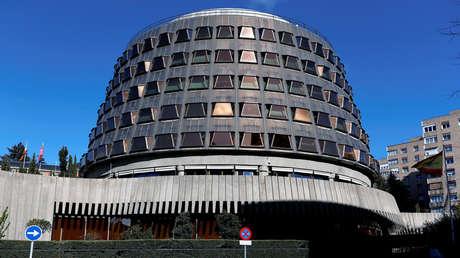 Sede del Tribunal Constitucional de España en Madrid. 27 de enero de 2018.