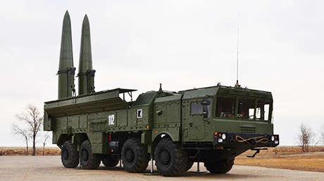 El sistema ruso Iskander-M.