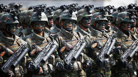 Soldados norcoreanos.
