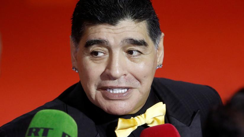 Por hablar mal de Trump: EE.UU. le niega la visa nuevamente a Maradona