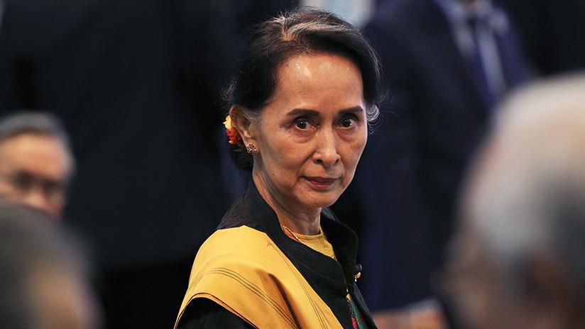 Lanzan un cóctel molotov contra la vivienda de la líder 'de facto' birmana Aung San Suu Kyi