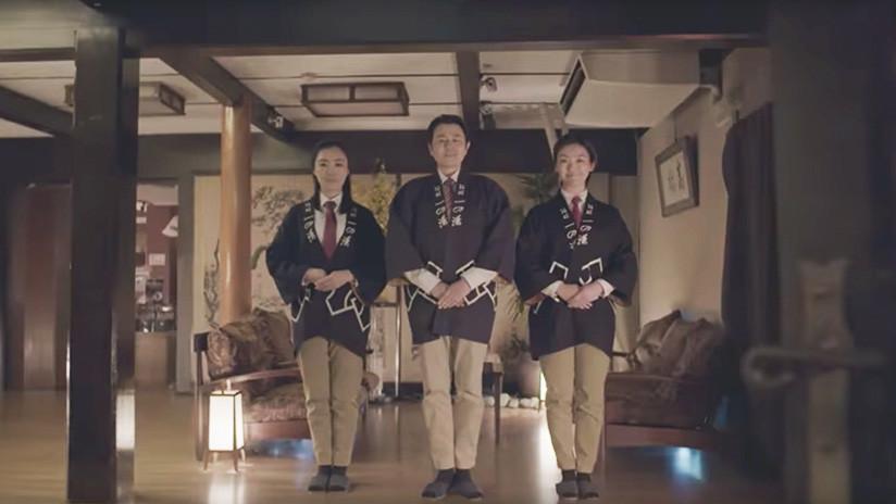 VIDEO: Nissan crea cojines y zapatillas con piloto automático para un hotel en Japón