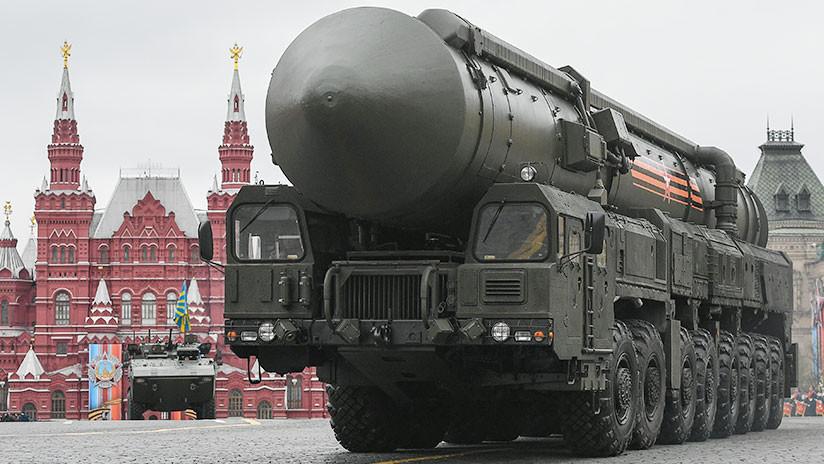 Rusia incorporó a su ejército 21 misiles balísticos en 2017