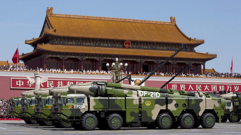 """""""30% más potente"""": China prueba mejora del único misil balístico antiportaviones del mundo"""