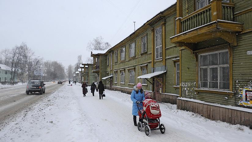 FOTO: Resuelven el misterio de la 'nieve sangrienta' en el extremo norte de Rusia