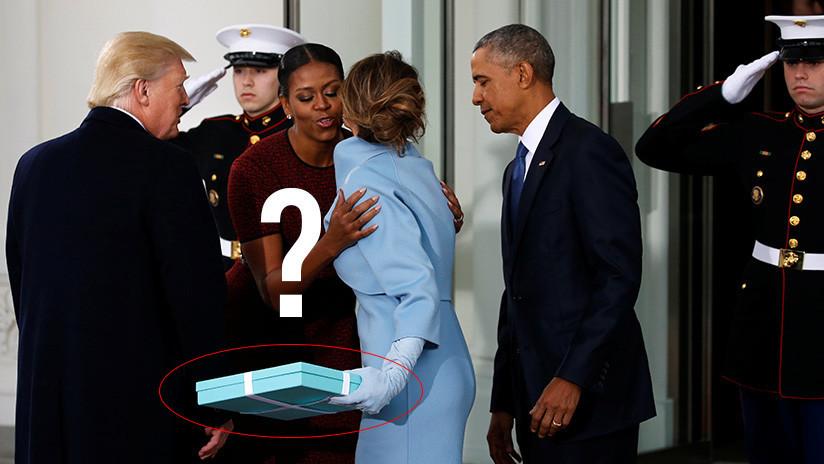 Michelle Obama revela qué le regaló Melania el día de la toma de posesión de Trump