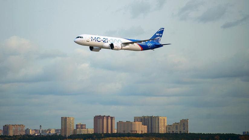 Alas nacionales: Aeroflot adquiere 50 aviones rusos MS-21 por más de 5.000 millones de dólares