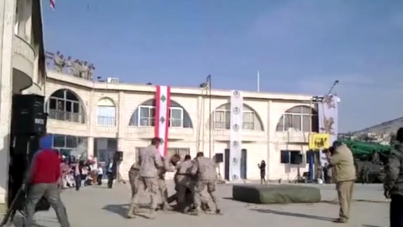 FUERTE VIDEO: Una exhibición militar termina en tragedia