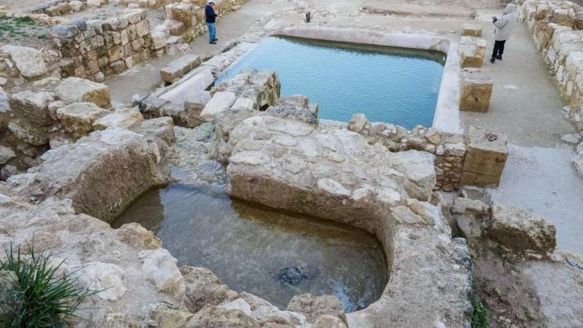 Israel: Descubren antigua piscina que podría ser uno de los lugares emblemáticos del cristianismo