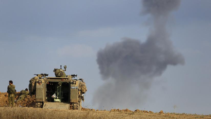 Israel ataca la Franja de Gaza en respuesta al lanzamiento de un misil