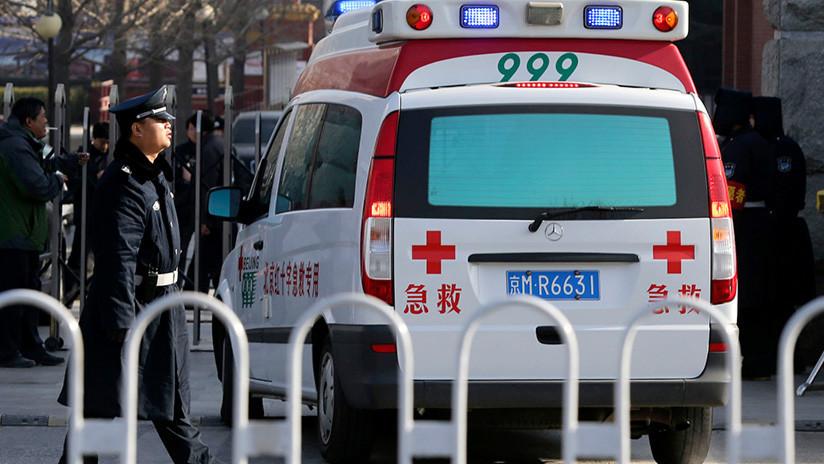 China: Un vehículo atropella a peatones en Shanghái dejando varios heridos graves (VIDEOS)