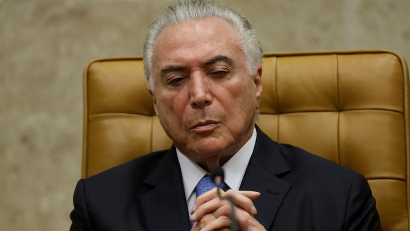 """El presidente de Brasil no pudo recibir su pensión por no proporcionar """"pruebas de vida"""""""