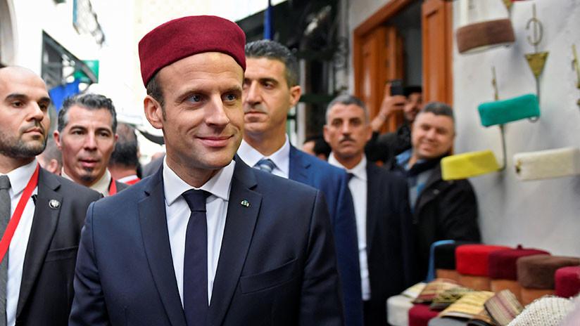 """Macron: """"Europa y EE.UU. tienen responsabilidad por la situación actual de Libia"""""""