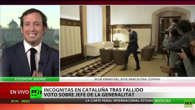 Incógnitas en Cataluña tras la fallida investidura del presidente de la 'Generalitat'