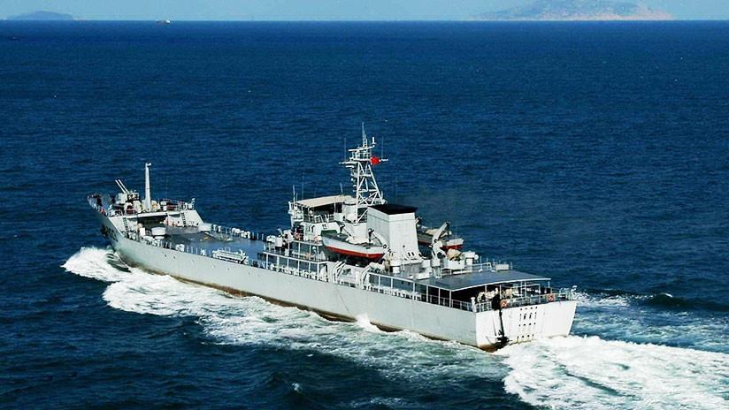 Publican fotos de supuestos cañones de rieles chinos para barcos de guerra