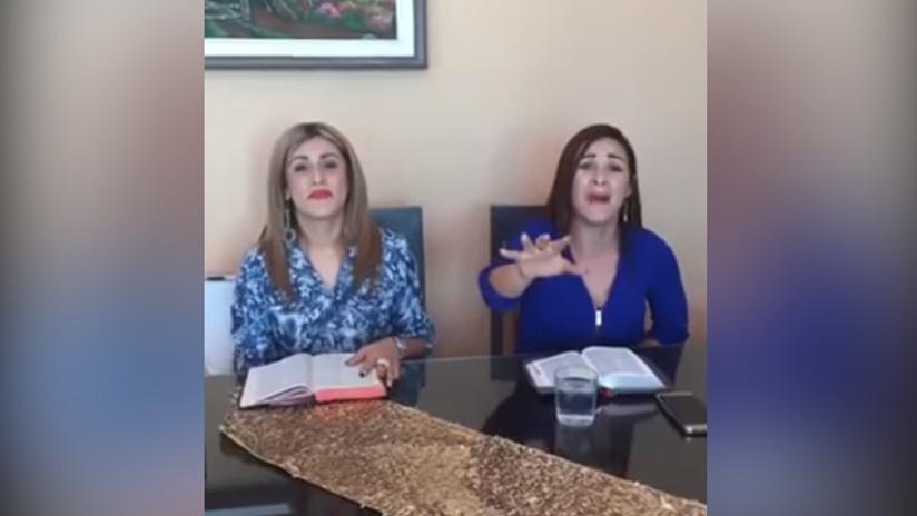 Esposa del candidato costarricense habla una lengua rara en Facebook Live y se vuelve viral