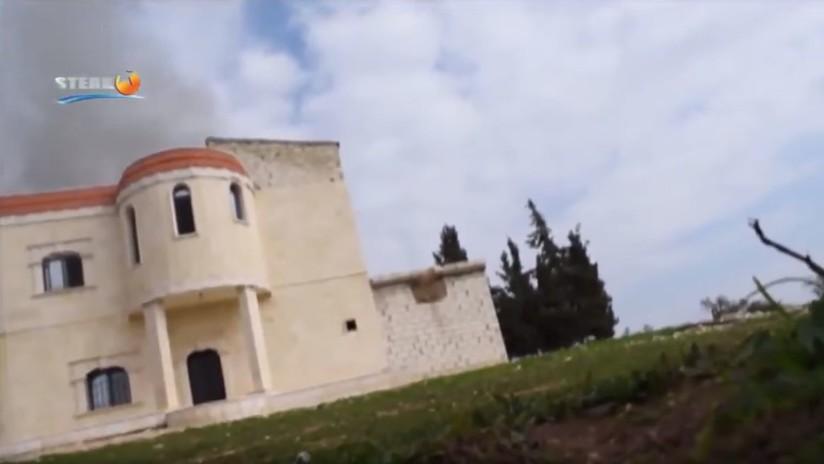 VIDEO: La Fuerza Aérea turca bombardea objetivos civiles en Afrin