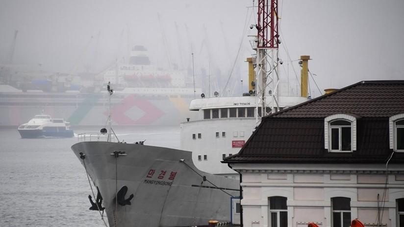 Un barco norcoreano envía una señal de socorro en aguas rusas