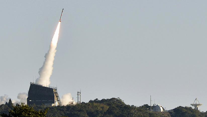 Japón lanza al espacio el cohete portador más pequeño del mundo (VIDEO)
