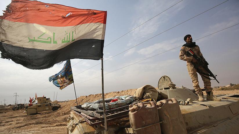 Tropas iraquíes expulsan al Estado Islámico del desierto, cerca de la frontera con Arabia Saudita