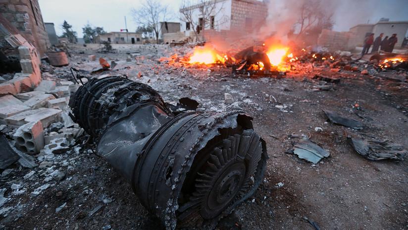 Derribado en Siria un avión Sukhoi Su-25 de la Fuerza Aérea rusa