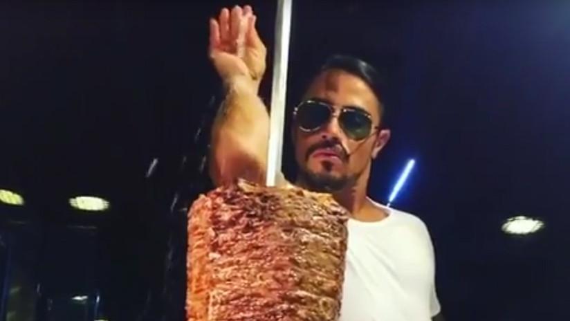 Autoridades de Salud estadounidenses investigan a 'Salt Bae', el cocinero turco más extravagante