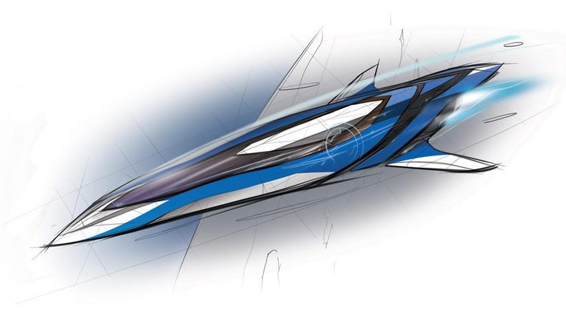 Carrera hipersónica: Boeing revela el futurístico 'jet' Valkyrie II (FOTO)