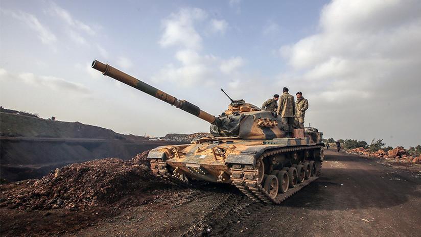 """""""Pagarán el doble por esto"""": milicias kurdas destruyen un tanque con varios soldados turcos (VIDEO)"""